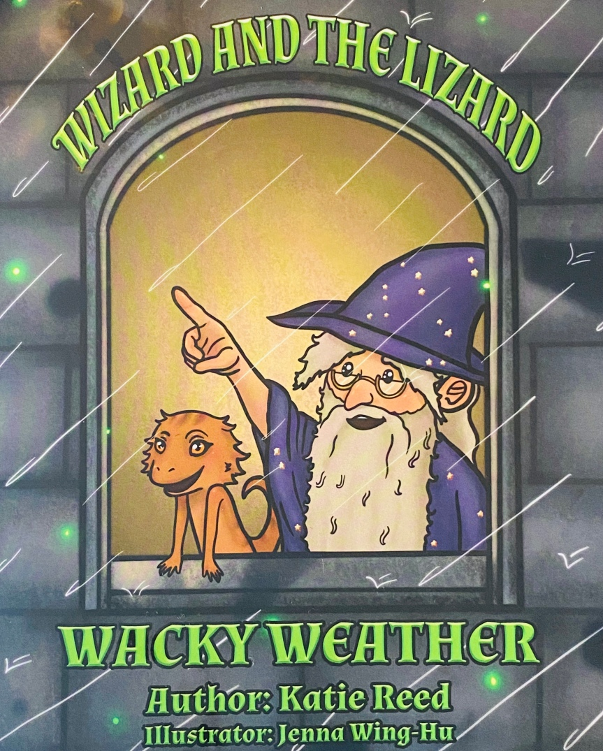 Children's Book Review: Wizard And The Lizard Wacky Weather